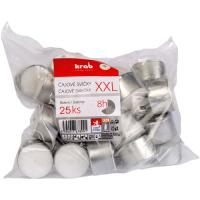 Tealight XXL 22g in cup, 25 pcs in bag