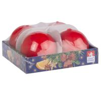 Candle ball  60mm, 4 pcs in tray