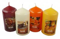 Scented candle cylinder 60x110mm