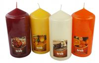 Scented candle cylinder 70x150mm