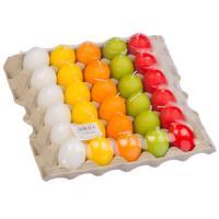Svíčka vejce malé 45x60 mm MIX barev