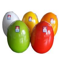 Svíčka vejce velké červené 80x120 mm